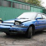 事故車の写真